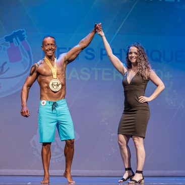 MENS PHYSIQUE MASTERS - 1 JOHN ROSE